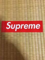 新品 supreme BOX logo ステッカー赤 安値即決 Tシャツ パーカー