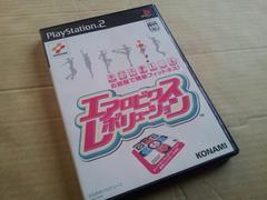 PS2☆エアロビクス レボリューション☆フィットネスゲーム。KONAMI。