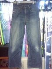 リーバイス512太めストレート色落ちジーンズ