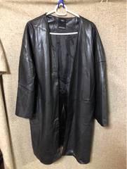 AZULbymoussy合皮オーバーコート