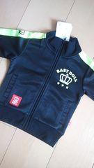 新品ラインジャケット80黒×黄ベビドBABYDOLLベビードール