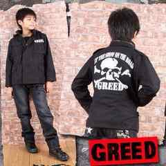 新品◆ミリタリージャケットジャンパー◆ドクロが激渋!150春秋