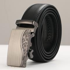 ベルト 本革 オートロック 高級ベルト 110cm〜125cm 312