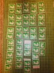 韓国W20切手×50枚(鳥)♪