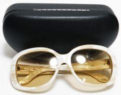 美品 ラルフローレン サングラス 大理石柄×ブラウン系 RL8087