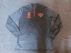 【NY Knicks】ポルジンギス ジップ式ロングTOPS US L