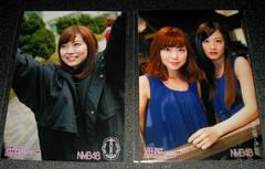 NMB48 甘噛み姫 通常盤 店舗別生写真2枚セット 渡辺美優紀