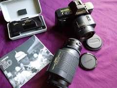 Canon初AF1眼T80.貴重なSET