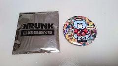 KRUNK×BIGBANGローソン缶バッジ【LOSER・SOL】