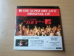 CD「MTV SUPER DRY LIVE ORIGINAL CD」KICK THE CAN CREW