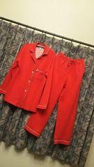 エドウィン☆真っ赤なパジャマ部屋着大きいサイズゆったり
