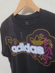 アディダス ガールプリントTシャツ オリジナルス M