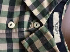 プードゥドゥ☆胸元刺繍チェックシャツ