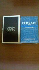 即決■カルバンクラインマンとヴェルサーチマンのサンプル香水