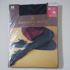ワコールsuccess walkタイツ70デニールL黒着圧!