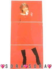 【矢口真里】トレーディング.コレクションカード.トレカ3枚セット�A