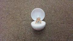 【新品】(カープ)スラィリー スラィリング 指輪 ピンクゴールド