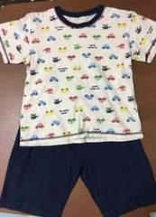 半袖パジャマ 上下 乗り物 130cm