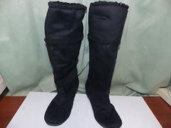 中古)これからの寒い季節に便利な ムートン風 ブーツ