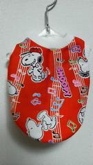 ハンドメイド*スヌーピーTシャツ*音符・赤・バイカラー・犬用*SS
