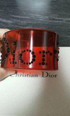 ディオール ワイド幅 「Dior」ロゴバングルブレスレット