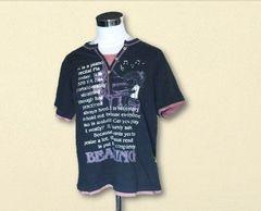 新品グレー×ピンクTシャツLL大きいサイズ