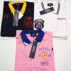 在庫処理3点◆ PEARLY GATES◆パーリーゲイツ◆ゴルフ半袖