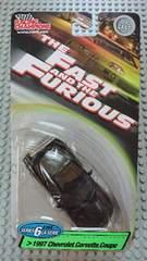 [レーシングチャンピオン]ワイルドスピード 1997 シボレー コルベット クーペ
