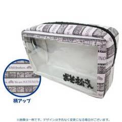 【おそ松さん】可愛いコスメ.デジカメ.スマホ携帯.3DS♪透明窓付ポーチ