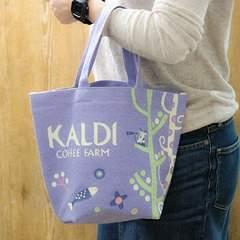 KALDI カルディコーヒー*ラベンダー ミニトートバッグ ラスト