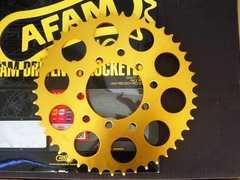(7704)CBX400FXAM旧AFAM製ゴールドスプロケット