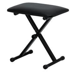 キーボードスローン (ピアノ椅子) ブラック