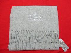 Vivienne Westwood ヴィヴィアンウエストウッド マフラー グレー 未使用