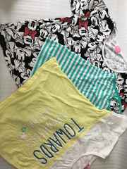 夏 子供服 ミニー半袖 Tシャツ キャミ三点セット 160�p
