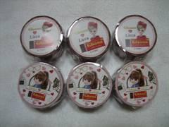 Ghana&Licca リカちゃんマスキングテープ 全2種×3セット 計6個 ガーナ