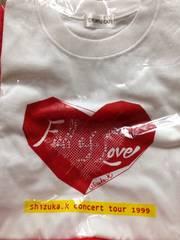 工藤静香 Tシャツ concert tour 1999 Full of Love 未使用
