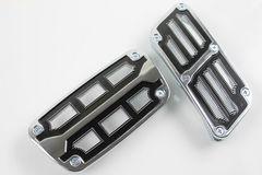 汎用 デザインアルミペダルAT用 ペダルカバー 高級感抜群