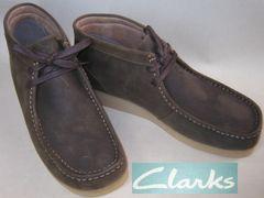クラークスCLARKS新品PADMORE�Uミッドカット ブーツ63370us9