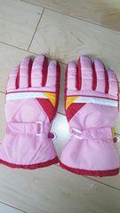 スキー 手袋 グローブ 女児