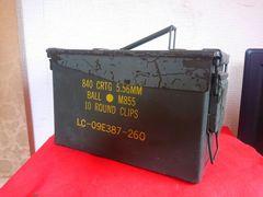 米軍払い下げ・弾薬箱・アーモボックス・中古品