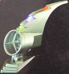 わけあり☆ボンネットマスコット風力発電LED付きゴージャス