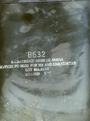 アメリカ軍 M49A4迫撃砲弾 アモボックス
