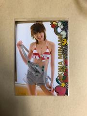 南明奈 2008 トレカ アイドル グラビア カード 水着 087
