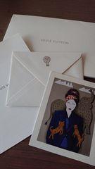 ルイヴィトンpostcardと封筒のセット �B