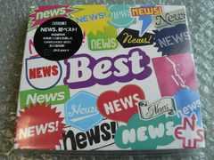新品/NEWS『NEWS BEST』初回盤【2枚組CD】ベスト27曲/他に出品