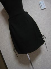 2017年夏購入★使える♪薄手黒スカート♪履きやすい♪Lサイズ