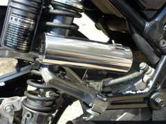 汎用 45π サイレンサースタンド マフラー XJR ZRX ゼファー バリオス
