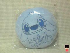Disneyほっぺまくら(クッション)スティッチブルー