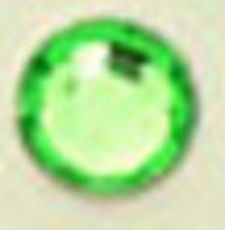 ● 5mm ● デコ用ストーン  2000粒 ライトグリーン