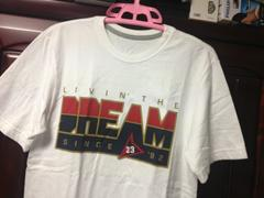 新品同様nike jordan live'n the DREAM Tシャツ